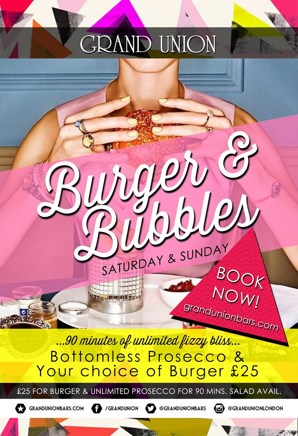Burger & Bubbles - Paddington